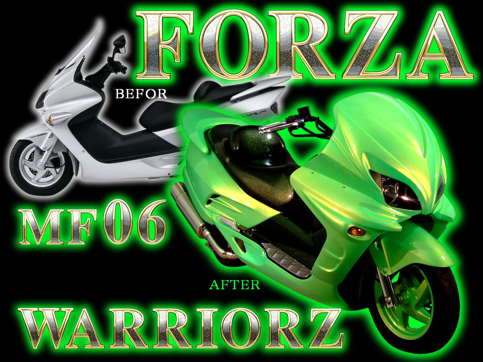 FORZA(フォルツァ・MF06)カスタムパーツ・カスタムペイント・エアロパーツ