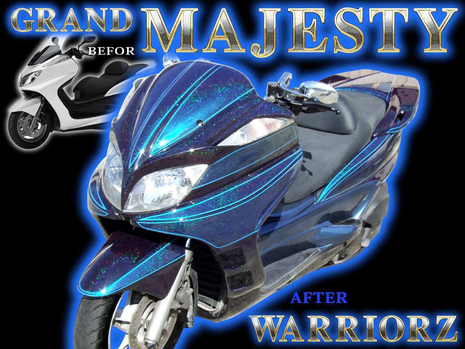 GRAND MAJESTY YAMAHA
