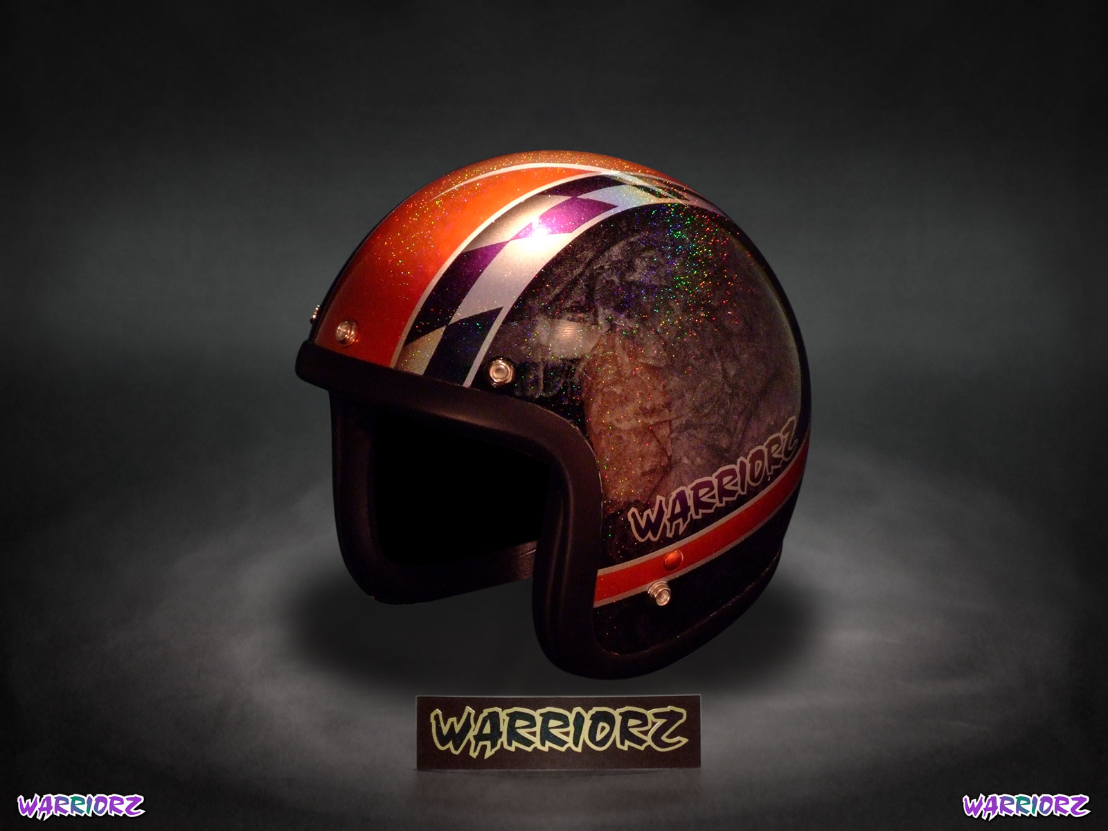 motorcycle Helmet custom Painting