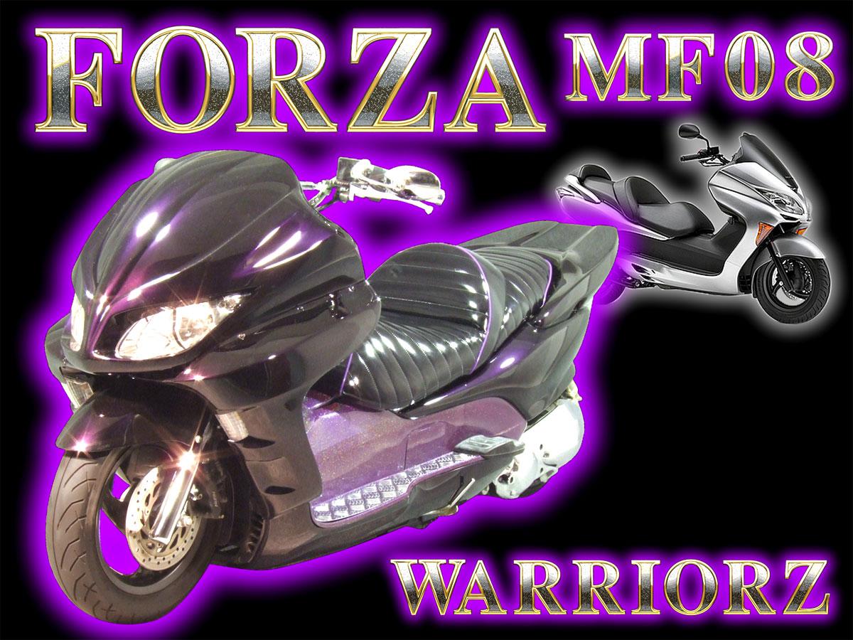 HONDA FORZA MF08 PARTS